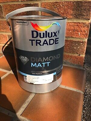 5 X 5l Of Dulux Trade Diamond Matt Which Was Batched In May 2018. • 150£