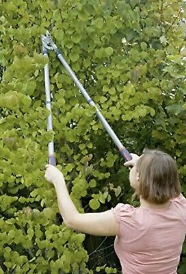 Spear & Jackson Telescopic Bypass Action Tree Pruner Cutter Pruning Loppers • 26.99£