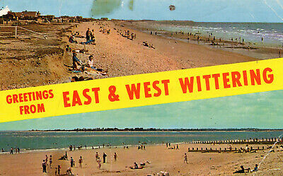 Postcard Sussex  East And West Wittering  Chichester Posted   • 3£