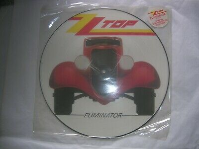 Zz Top.'eliminator'.12  Vinyl Picture Disc Album.w3774 P. Wea 1985.vg/ex. • 29.99£
