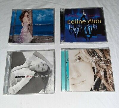 $ CDN10.95 • Buy Lot Of Four (4) Celine Dion Cds Pre-owned Like New