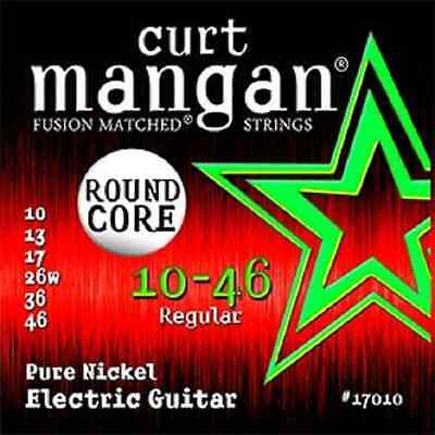 $ CDN31.93 • Buy Curt Mangan 10-46 Round Core Pure Nickel Guitar Strings- 2 Pack - Free Shipping