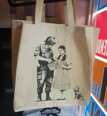 New  Unofficial  Banksy    Tote Bag   Bnwt  Wizard Of Oz  Magenta Quality  • 9.99£