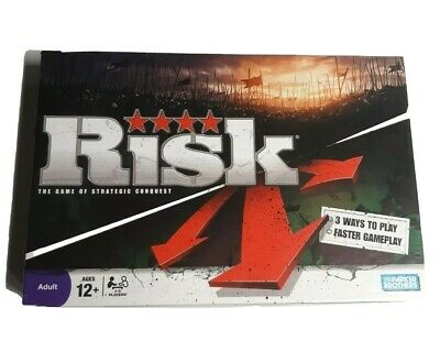 $24.98 • Buy RISK Game - 2008 -  THE GAME OF STRATEGIC CONQUEST Parker Brothers New! Open Box