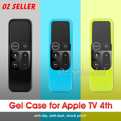 AU6.95 • Buy For Apple TV (4th Gen)  Remote Controller Anti Dust Silicone Case Cover Skin AU
