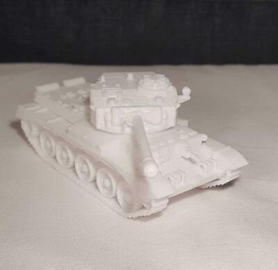 £12.50 • Buy 28mm 1/56 3D Printed WWII British Comet Medium Tank Suitable Bolt Action