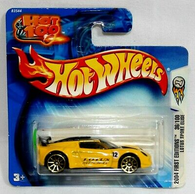 $ CDN3.95 • Buy 2004 Hot Wheels First Editions Yellow Lotus Sport Elise 1/64 On Short Card #36