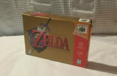 $119.99 • Buy LEGEND OF ZELDA: OCARINA OF TIME N64 With Box & Manual (USED In GREAT CONDITION)