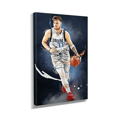 $189.99 • Buy Luka Dončić Basketball Player Canvas Art Design Painting Picture Canvas Wall Art