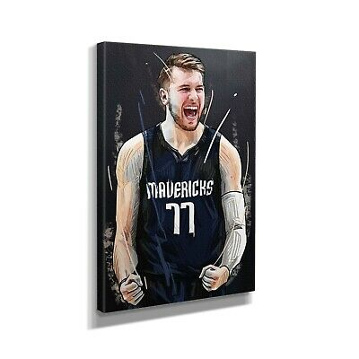 $189.99 • Buy Luka Dončić Basketball Player Canvas Art Design Painting Picture Canvas Wall Cel