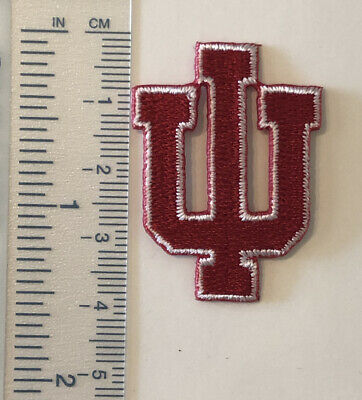 "$2.99 • Buy University Of Indiana 1.5"", Embroidered Iron On Patch"
