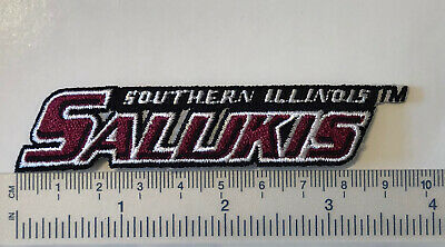 $3.50 • Buy Southern Illinois University Salukis Embroidered Iron On Patch, 4""