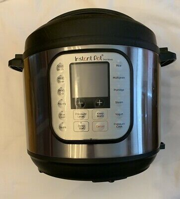 $89.99 • Buy Instant Pot Duo Nova 6 Quart 7-in-1 Multi-Use Programmable Pressure Cooker Used