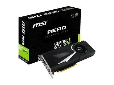 $ CDN1180.21 • Buy MSI GeForce GTX 1070 Ti DirectX 12 GTX 1070 Ti AERO 8G 256-Bit Gaming Video Card
