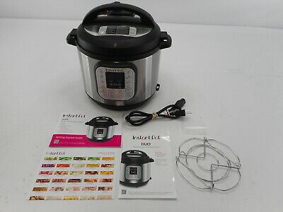 $55.69 • Buy Instant Pot IP-DUO60 - 7-in-1 Electric Pressure Cooker, 6 Quart, 14 Programs