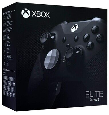 $170.50 • Buy Xbox One Elite Series 2 Controller - Black - In Hand Ships Fast For FREE!