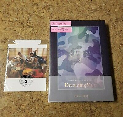 $169.95 • Buy BTS Now 3 Dreaming Days Photobook DVD+Poster Card Set+Photo Card Set LIMITED NEW