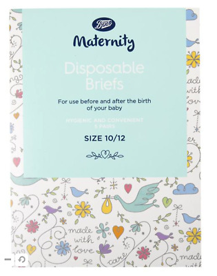 £5.49 • Buy Boots Maternity Disposable Briefs Size 10/12 (5 Pairs)