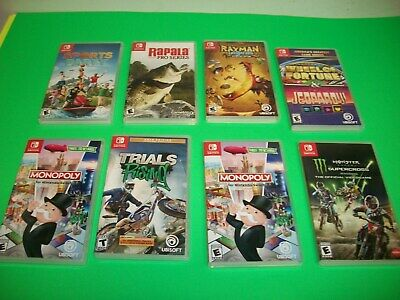 $120 • Buy Nintendo Switch Game Lot Of 8 Games W/ Cases