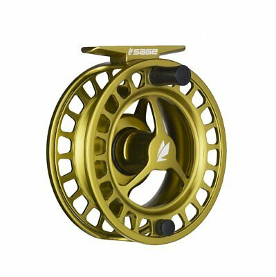 $300 • Buy Sage Spectrum 7/8 Fly Reel - Color Lime - NEW - FREE FLY LINE