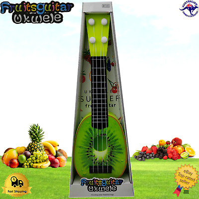 AU16.95 • Buy Kids Fruit Ukulele Kiwifruit Small Guitar Musical Instrument Educational Toys