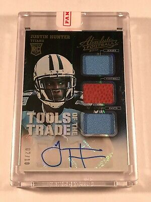 $9.99 • Buy 2013 Justin Hunter Rc Auto Jersey/ball/pants /10 - Absolute Tools Of The Trade