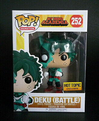 $25 • Buy Funko POP! My Hero Academia Deku Battle #252 Hot Topic Exclusive
