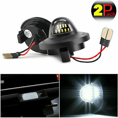 $10.95 • Buy 2 X License Plate Light LED SMD Bulb For Ford Pickup Truck F-150 F250 F350 2014