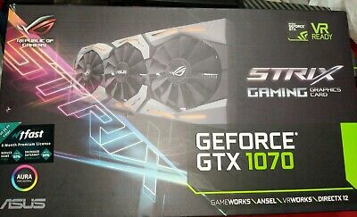 $ CDN500 • Buy ASUS NVIDIA GeForce GTX ROG STRIX 1070 8GB | DISCOUNTED PRICE