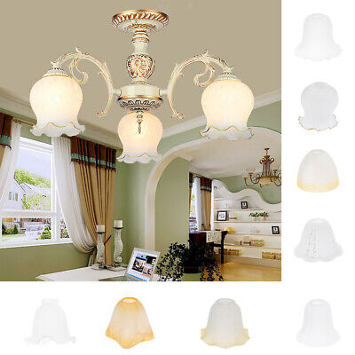 Glass Hanging Light Lampshade Bedside Lamp Light Shade For Bedroom • 10.63£