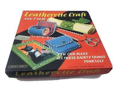 Vintage Toy 1960 Spears Games Rare Craft Kit Enfield London Rare • 10£
