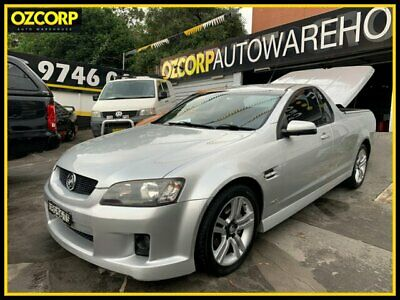 AU13990 • Buy 2010 Holden Commodore VE MY10 SV6 Silver Manual 6sp M Utility