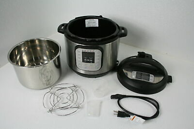 $53.13 • Buy Instant Pot Duo 6 Quart Electric Pressure Cooker W 14 One Touch Programs Black