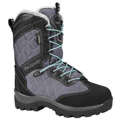 $ CDN297.26 • Buy Klim Aurora GTX Womens Winter Sports Snowmobile Boots - Gray/Black - 6