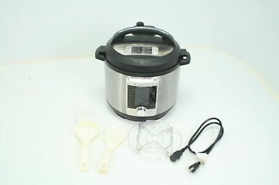 $75.01 • Buy SEE NOTES Instant Pot Ultra 10-in-1 Electric Pressure Cooker 6 Quart 16 Programs