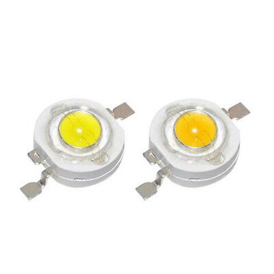$ CDN3.35 • Buy 10stücke LED Chip COB Strahler Fluter Lampe Weiß Farbe CREE 1W 3W LED Chip SMD