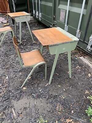 Vintage 1950's Esavian ESA Childrens School Desk Industrial ,Delivery Poss • 79.95£