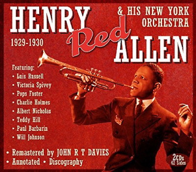 £12.32 • Buy Allen Henry Red-& His New York Orchestra CD NEW