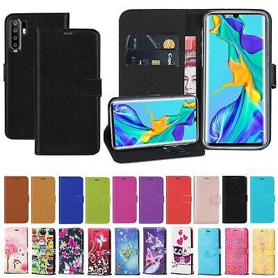 For Huawei P30 Pro New Edition PU Leather Wallet Flip Stand Magnetic Case Cover • 3.25£