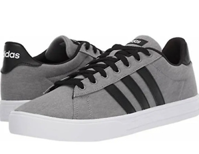 $ CDN66.61 • Buy New Adidas Daily 2.0 Men's Low Top Shoes Sneakers F36629 Grey Black  Size 13