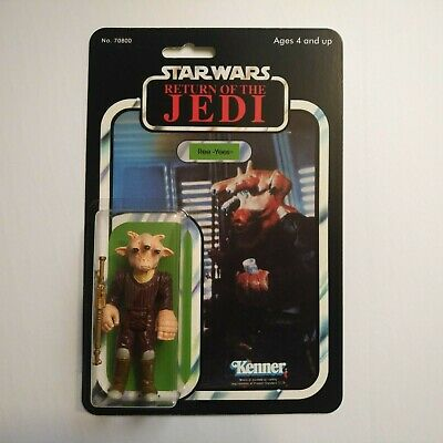 $ CDN38 • Buy Star Wars ROTJ Ree-Yees MOC Repro Card Vintage Action Figure Novelty 92 Back