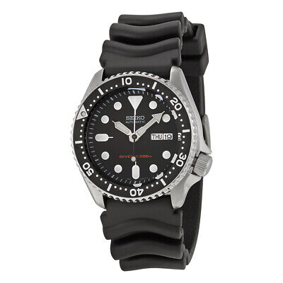 $ CDN412.30 • Buy Seiko SKX007 Automatic Black Dial Rubber Strap 200m Scuba Diver Watch SKX007K1