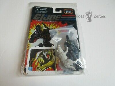 $ CDN58.98 • Buy GI Joe 25th Anniversary COMMANDO SNAKE EYES With White Timber & File Card Back