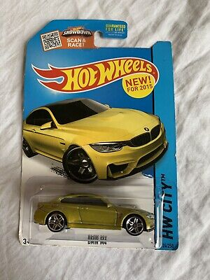$1 • Buy BMW M4 #24 * GOLD * 2015 Hot Wheels * WH18