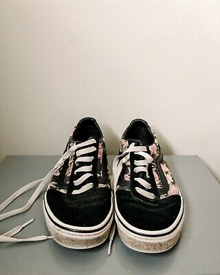 $ CDN20 • Buy Vans Off The Wall Shoes Womens Floral Design Size 8