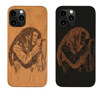£13.38 • Buy Bob Marley Iphone 11 Pro Max 5 6 7 8 Plus X XS XMAX XR Wood Case Couples