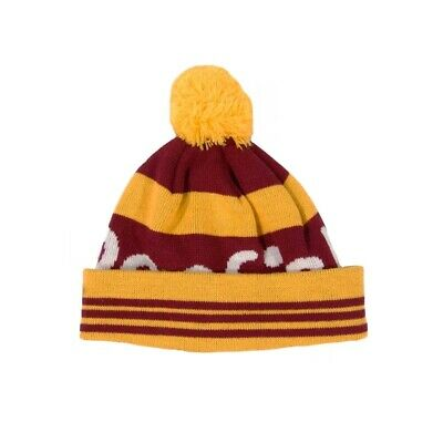 Penfield Sanford Beanie - Burgundy Yellow - 1 Size - RRP £34.99 • 9.99£