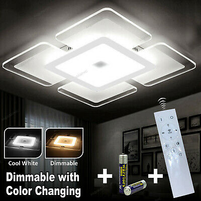 LED Ceiling Lights Square Panel Down Light Kitchen Bedroom Living Room Wall Lamp • 23.99£