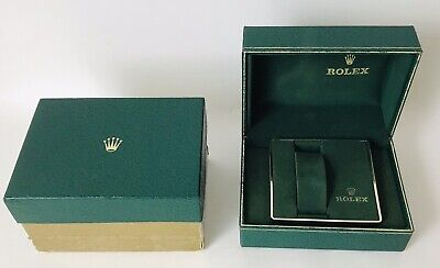 $ CDN183.28 • Buy Vintage Genuine ROLEX Watch Boxes Green W/ Insert Inner Outer 1970'S Bukfor USA