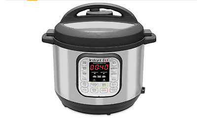 $50 • Buy Instant Pot IP-DUO60 6 Quart 7-in-1 Programmable1000watt Instapot Pressure...